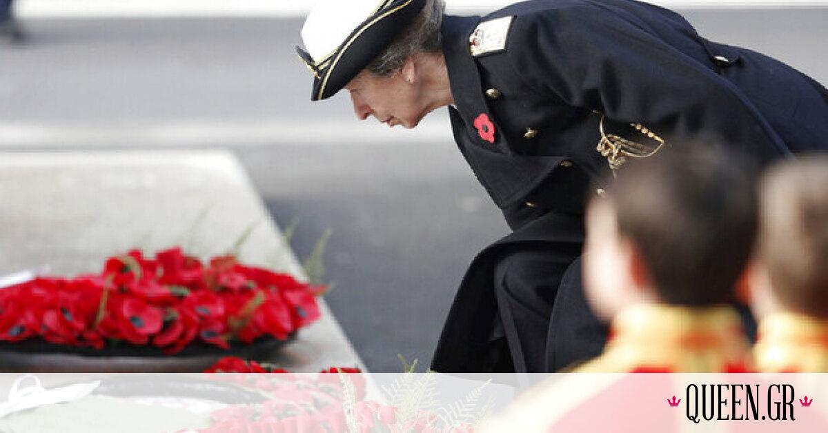 Η απρόσμενη ενδυματολογική επιλογή της πριγκίπισσας Άννας για την κηδεία του πατέρα της
