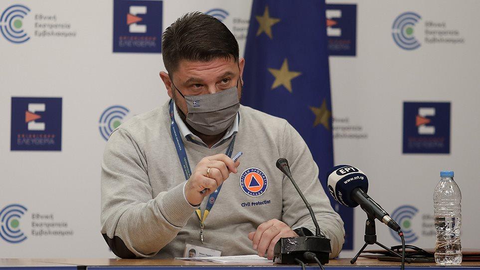 Στην Πάτρα ο Νίκος Χαρδαλιάς – Θα επισκεφθεί το νέο mega εμβολιαστικό κέντρο