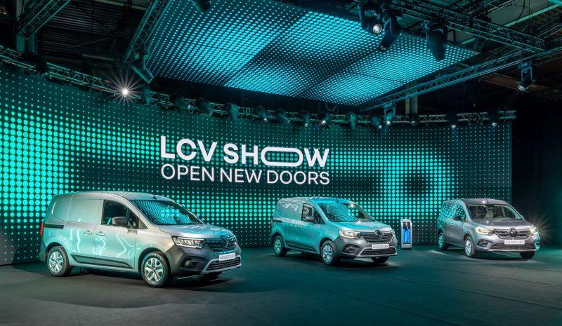 Νέα γκάμα μοντέλων και εκδόσεις μηδενικών ρύπων για τα LCV της Renault.