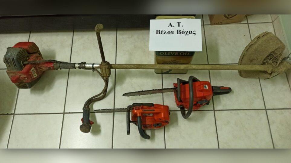 Κορινθία: Έκλεψαν λάδι και εργαλεία από αποθήκη