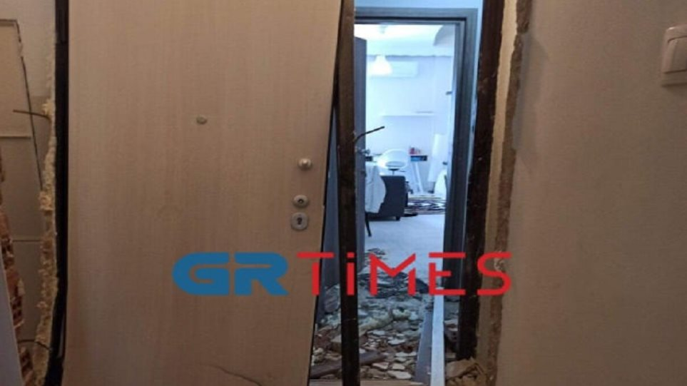Θεσσαλονίκη: Έκρηξη από γκαζάκι ισοπέδωσε διαμέρισμα