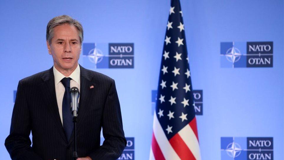 Άντονι Μπλίνκεν: Οι δυνάμεις του ΝΑΤΟ θα αποχωρήσουν μαζί από το Αφγανιστάν