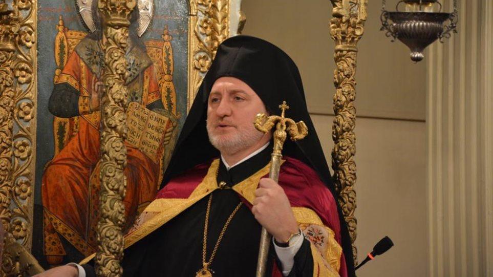 Αρχιεπίσκοπος Αμερικής Ελπιδοφόρος: Προσευχήθηκε σε εκδήλωση του Λευκού Οίκου για τον εορτασμό του Πάσχα