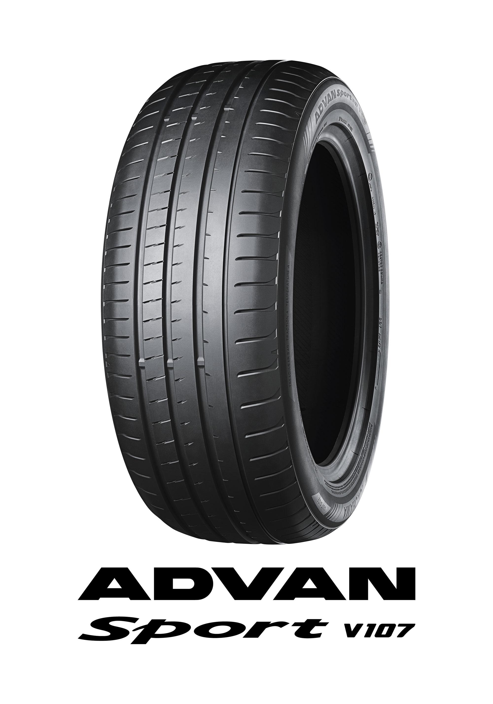 """Tα ελαστικά """"ADVAN Sport V107"""" της YOKOHAMA διατίθενται ως στάνταρ στον εργοστασιακό εξοπλισμό πολυτελών μοντέλων"""