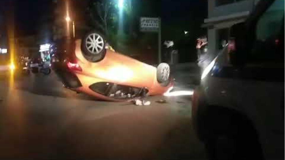 Πάτρα: Ανετράπη αυτοκίνητο όταν παιδάκι προσπάθησε να ανοίξει την πόρτα – Ένας τραυματίας