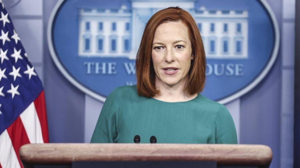 Λευκός Οίκος: Ανησυχούμε για τη ρωσική επιθετικότητα στην Ουκρανία