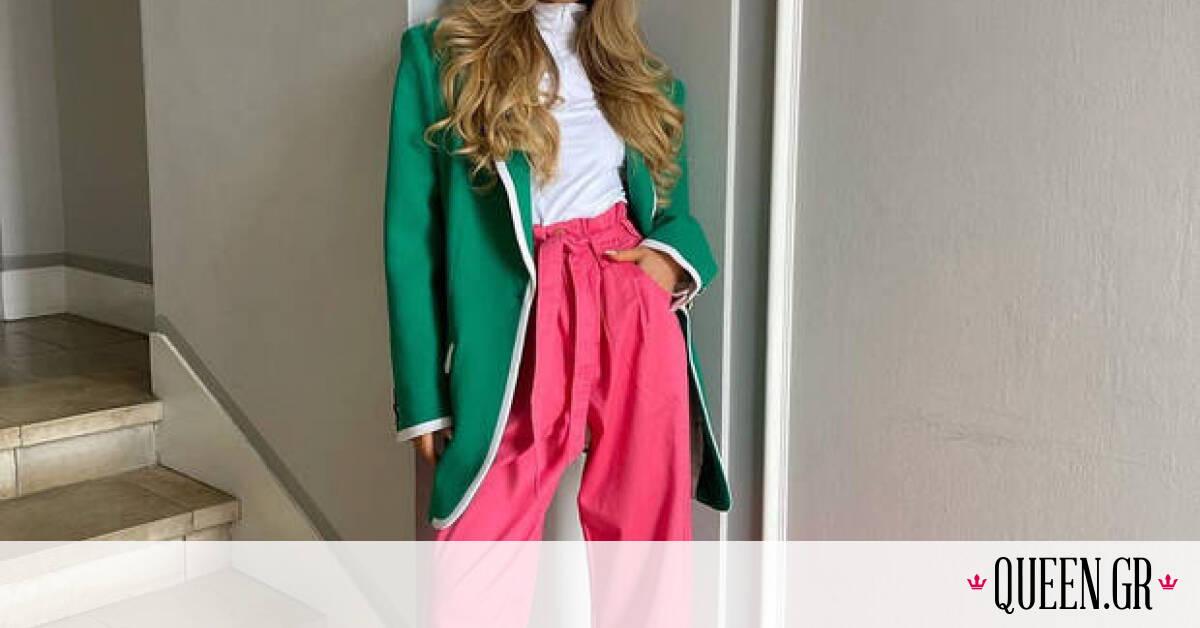 Με αυτά τα χρωματιστά παντελόνια θα είσαι η πιο καλοντυμένη τη φετινή άνοιξη