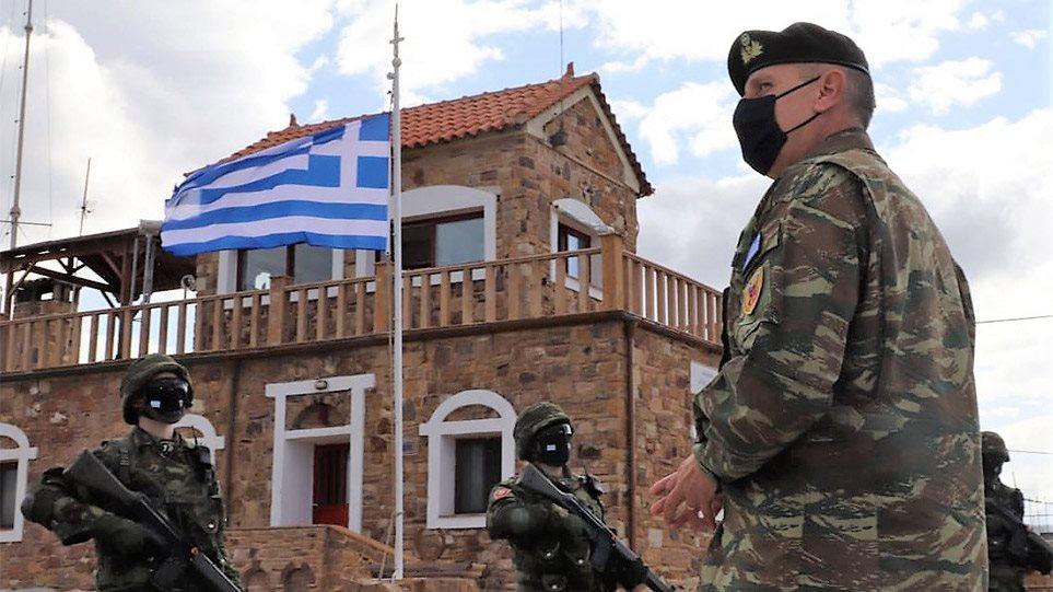 Επίσκεψη Φλώρου σε Χίο και επιτηρητικά φυλάκια «Παναγιάς» και «Αγίας Ελένης»: Ζήτησε συνεχή επαγρύπνηση
