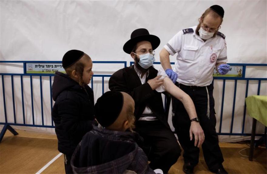 Κορωνοϊός: Σταθερά πρώτο το Ισραήλ στους εμβολιασμούς – Σε ποια θέση βρίσκεται η Ελλάδα