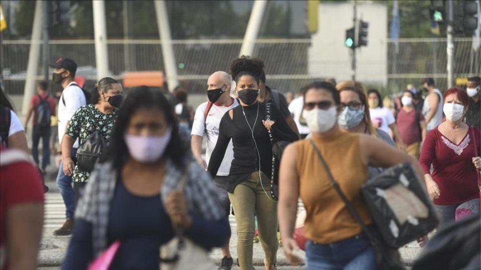 Στη δίνη του κορωνοϊού η Βραζιλία – Ακόμα 2.922 θάνατοι μέσα σε μια μέρα