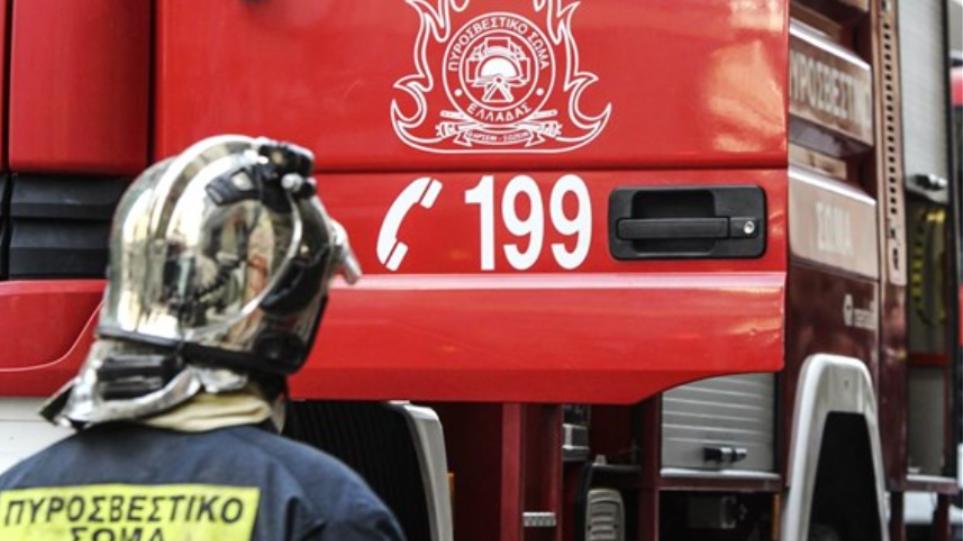 Σε εξέλιξη πυρκαγιά στο Βρωμονέρι Πηλίου σε δύσβατη περιοχή