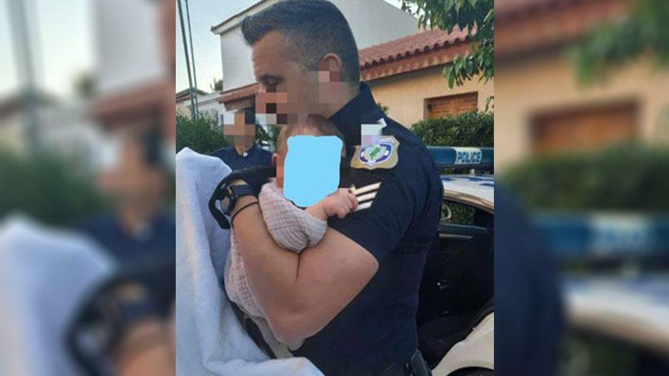 Έγκλημα στα Γλυκά Νερά – Καλλιακμάνης: Τι μου είπε ο αστυνομικός που είδε πρώτος και πήρε αγκαλιά το μωρό