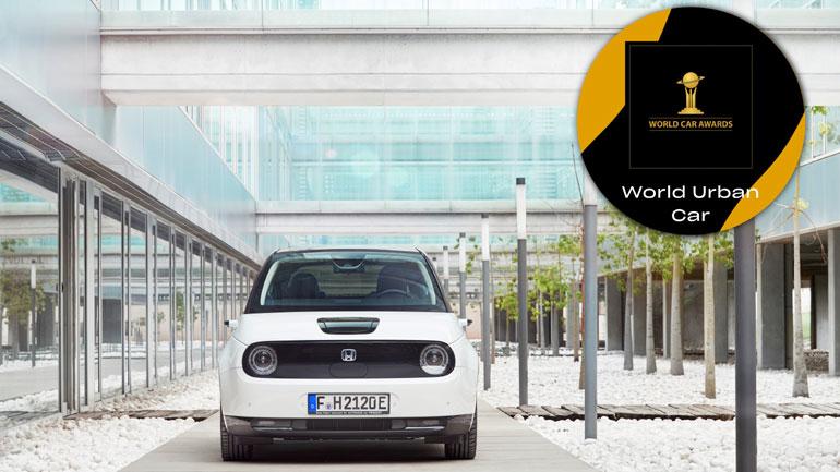 Διάκριση του Honda E στο θεσμό World Urban Car of the Year