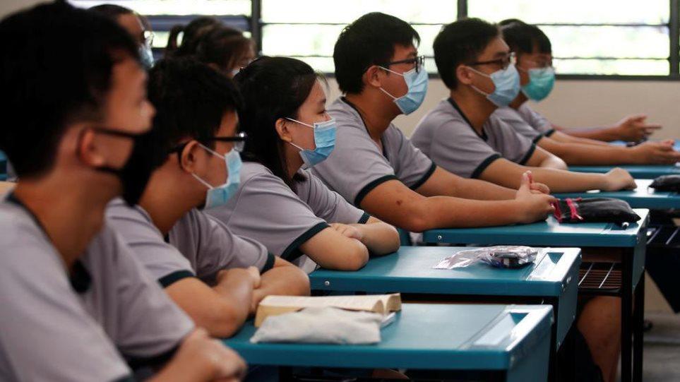 Κορωνοϊός: Κλείνουν τα σχολεία στη Σιγκαπούρη λόγω των μεταλλάξεων