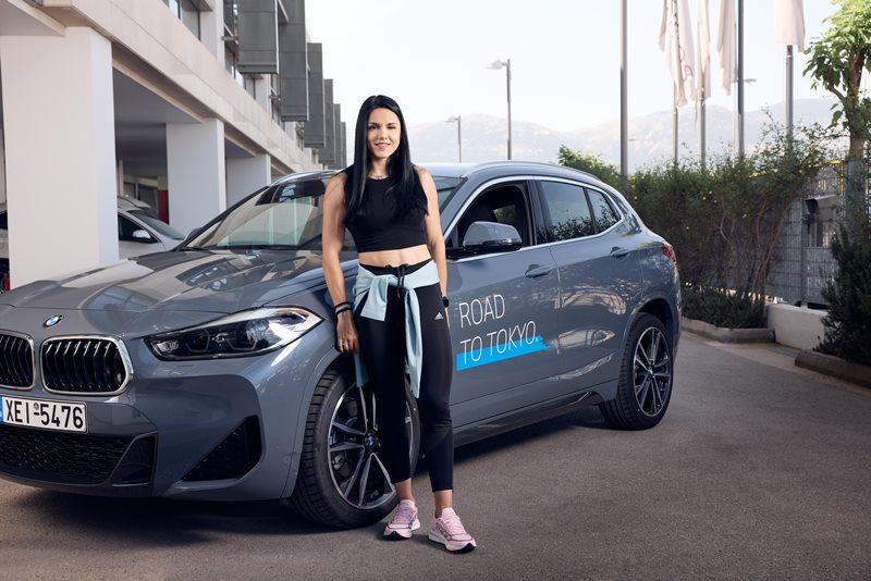 Με BMW Χ2 θα κυκλοφορεί η αθλήτρια στίβου Ραφαέλα Σπανουδάκη