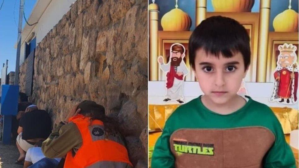 Ισραήλ: Αναστάτωση από ρουκέτα στην κηδεία ενός πεντάχρονου – Σκοτώθηκε από βλήμα που έπεσε σπίτι του
