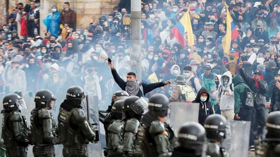 Κολομβία: Ο ΟΗΕ ζητά ανεξάρτητη έρευνα για τους 14 νεκρούς διαδηλωτές στο Κάλι