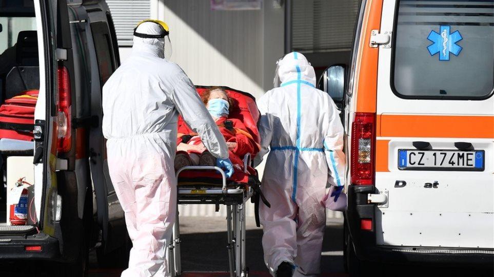 Ιταλία: Μειώνονται οι θάνατοι – 5.753 κρούσματα κορωνοϊού