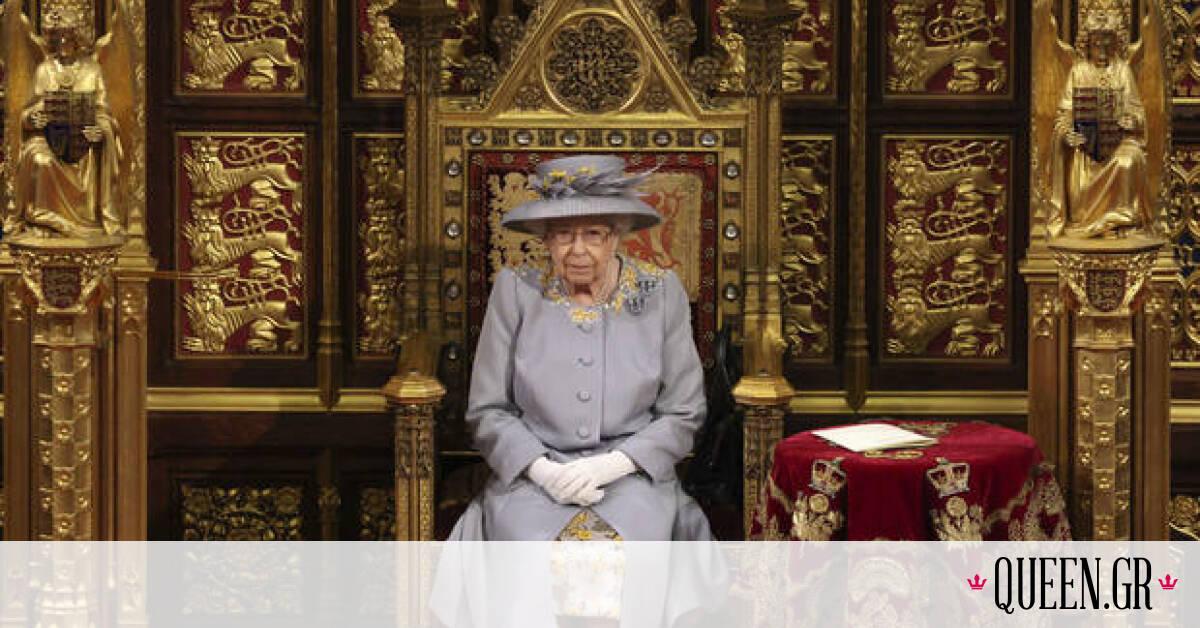 H μελαγχολική ιστορία πίσω από το floral φόρεμα της βασίλισσας Ελισάβετ
