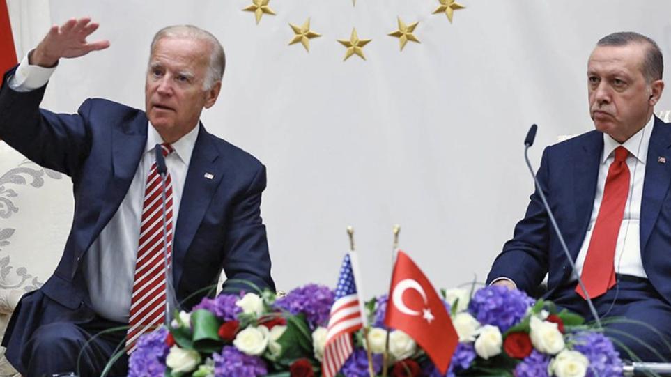 Ερντογάν: Η συνάντηση με τον Μπάιντεν θα σηματοδοτήσει μια νέα εποχή