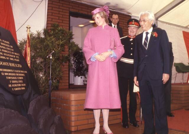 Η πριγκίπισσα Diana ανέδειξε το ροζ στο πιο απρόσμενο royal χρώμα