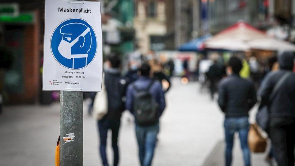 Κορωνοϊός – Γερμανία: Σχεδόν 12.300 οι νέες μολύνσεις – Κατέληξαν 237 ασθενείς σε μία μέρα