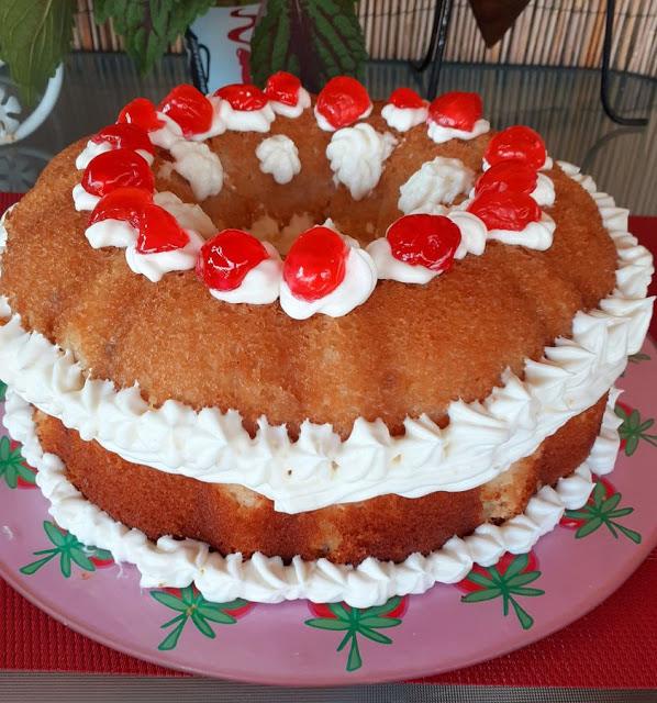 Μπαμπάς τούρτα απίθανο γλυκό !!!