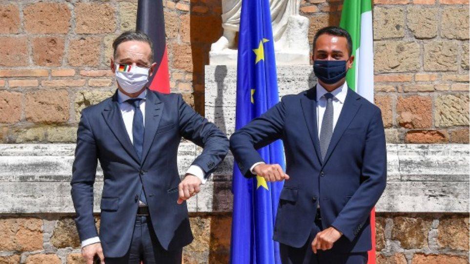 Χάικο Μάας: Η Γερμανία είναι διατεθειμένη να υποδεχθεί μετανάστες που έφθασαν στην Ιταλία τις τελευταίες ημέρες
