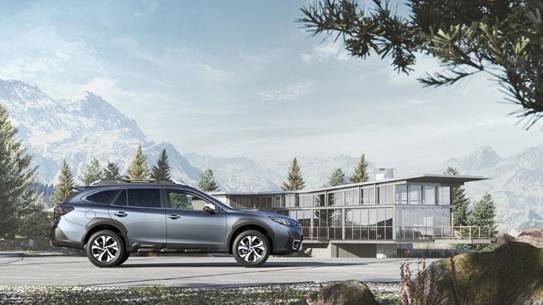Subaru Outback 6ης γενιας: «Ψηλότερο» με αυξημένες ικανότητες εκτός δρόμου και πιο ευρύχωρο