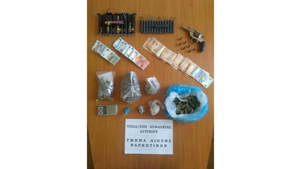 Αγρίνιο: Ανήλικος σε σπείρα με ναρκωτικά, εκρηκτικά και όπλα!