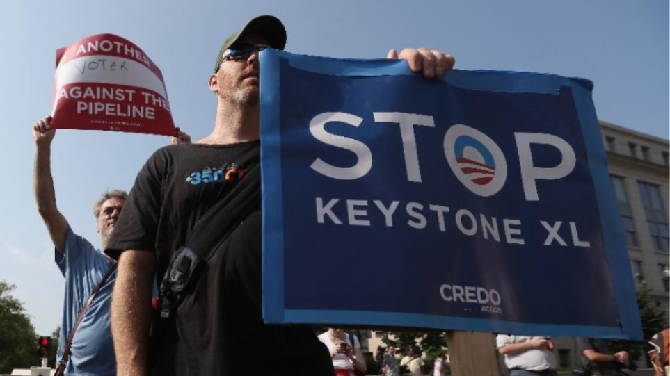 Keystone XL: Εγκαταλείφθηκε το σχέδιο για τον αμφιλεγόμενο πετρελαιαγωγό που θα συνέδεε τον Καναδά με τις ΗΠΑ