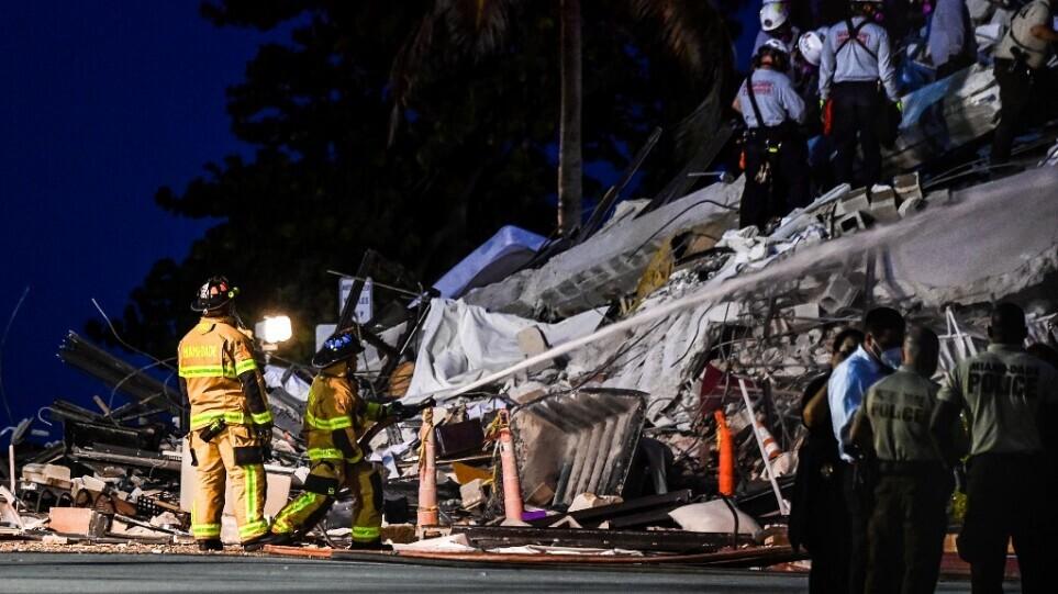 Φλόριντα: Αυξήθηκε στους πέντε ο αριθμός των νεκρών από την κατάρρευση πολυκατοικίας