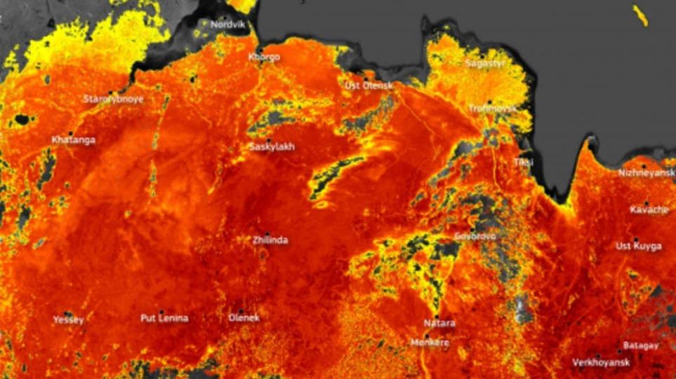 Στο «κόκκινο» η θερμοκρασία στον Αρκτικό Κύκλο – Στους 48 βαθμούς ο υδράργυρος στη Σιβηρία