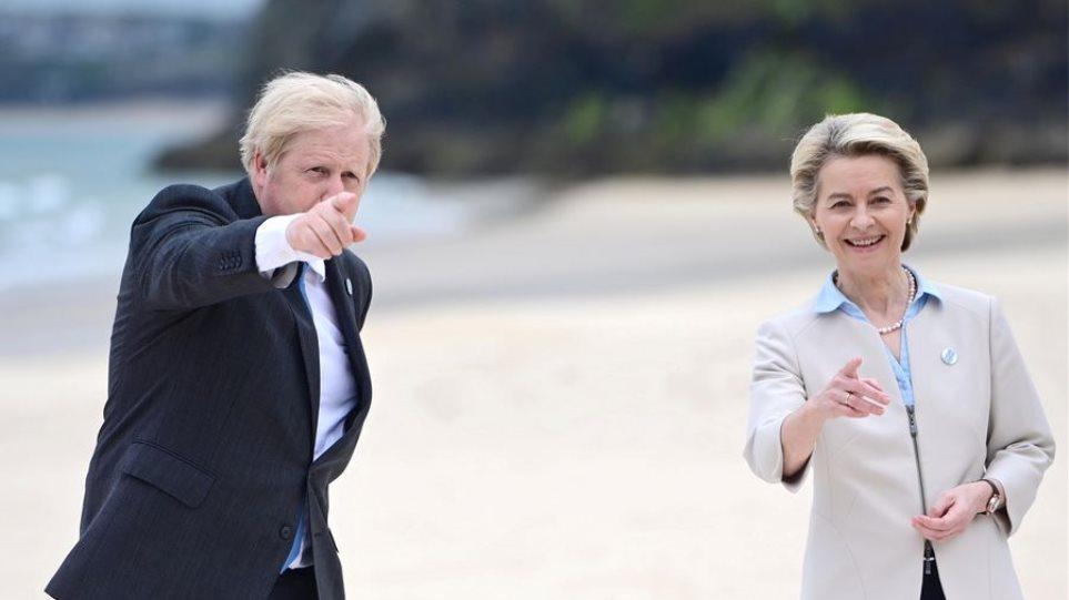 Σύνοδος G7: Ο Τζόνσον προειδοποιεί την ΕΕ για το εμπόριο μετά το Brexit