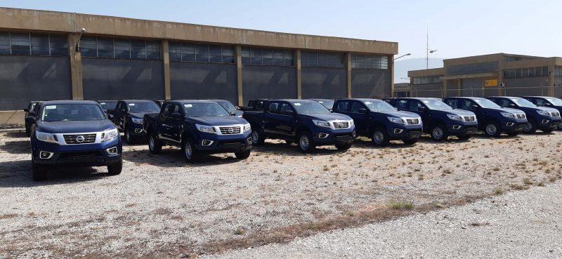 Η Πολεμική Αεροπορία ενισχύει τον στόλο οχημάτων της με Nissan NAVARA