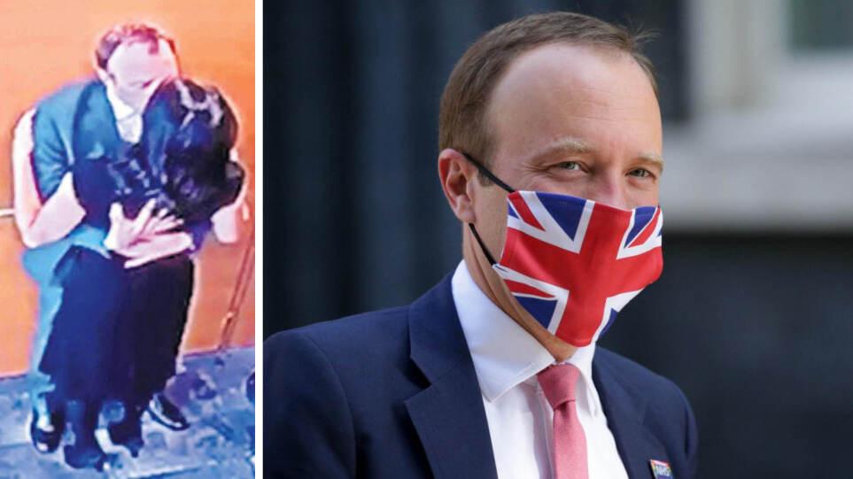 Ματ Χάνκοκ: Παραιτήθηκε ο Βρετανός υπουργός υγείας μετά από το σκάνδαλο με τα κρυφά φιλιά στη σύμβουλό του