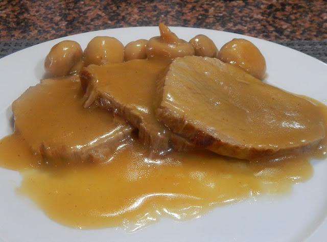 Μοσχαράκι νουά με μανιτάρια και βελούδινη σάλτσα πορτοκάλι!!!