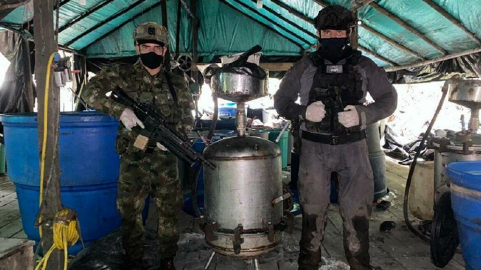 Κολομβία: Κατασχέθηκαν έξι τόνοι κοκαΐνης – H κυβέρνηση λέει πως ανήκαν στον Στρατό Εθνικής Απελευθέρωσης