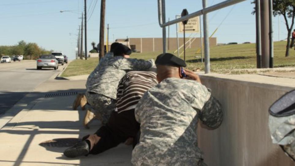 Πυροβολισμοί σε στρατιωτική βάση στο Τέξας – Δεν αναφέρθηκαν θύματα