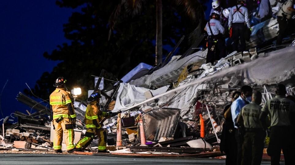 Φλόριντα: Με σόναρ και σκυλιά ψάχνουν τους δεκάδες αγνοούμενους στα ερείπια του πολυώροφου κτιρίου που κατάρρευσε