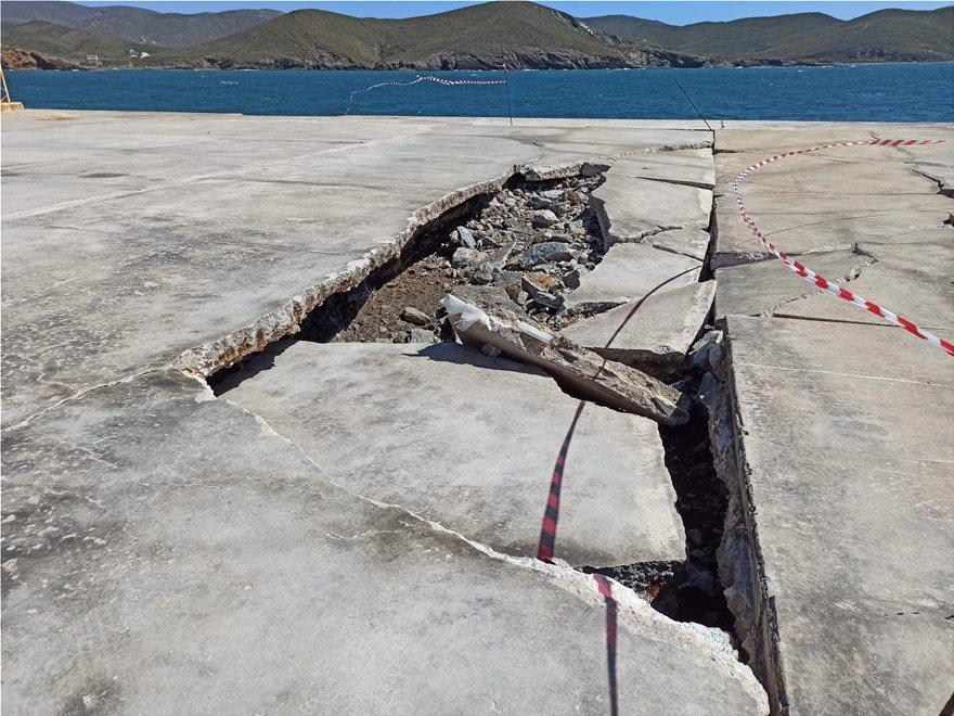 Ψαρά: Σε χρόνο ρεκόρ η αποκατάσταση του λιμανιού μετά την καταστροφή – Ξεκινά η διασύνδεση με τον Πειραιά