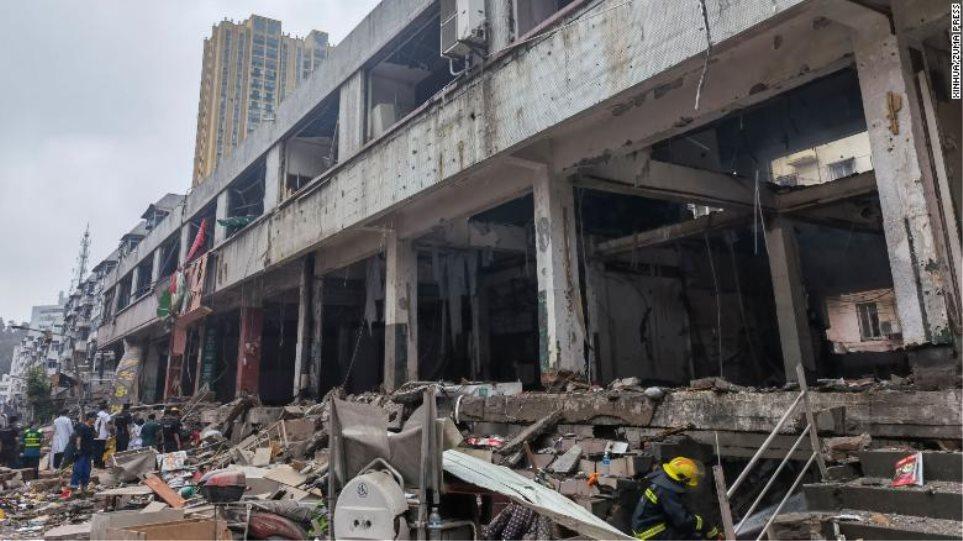 Κίνα: Τουλάχιστον 12 νεκροί και πάνω από 100 τραυματίες από έκρηξη σε τμήμα αγωγού φυσικού αερίου