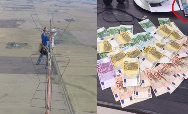 Δουλεύει μια φορά κάθε έξι μήνες, αλλάζει μια λάμπα και έχει μισθό 20.000 ευρώ
