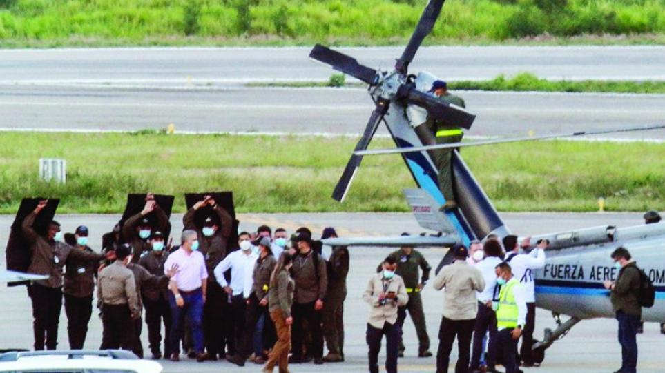 ΗΠΑ: Ο Μπάιντεν προσφέρει στον πρόεδρο της Κολομβίας υποστήριξή για να «αντιμετωπιστούν» οι «τρομοκρατικές ενέργειες»