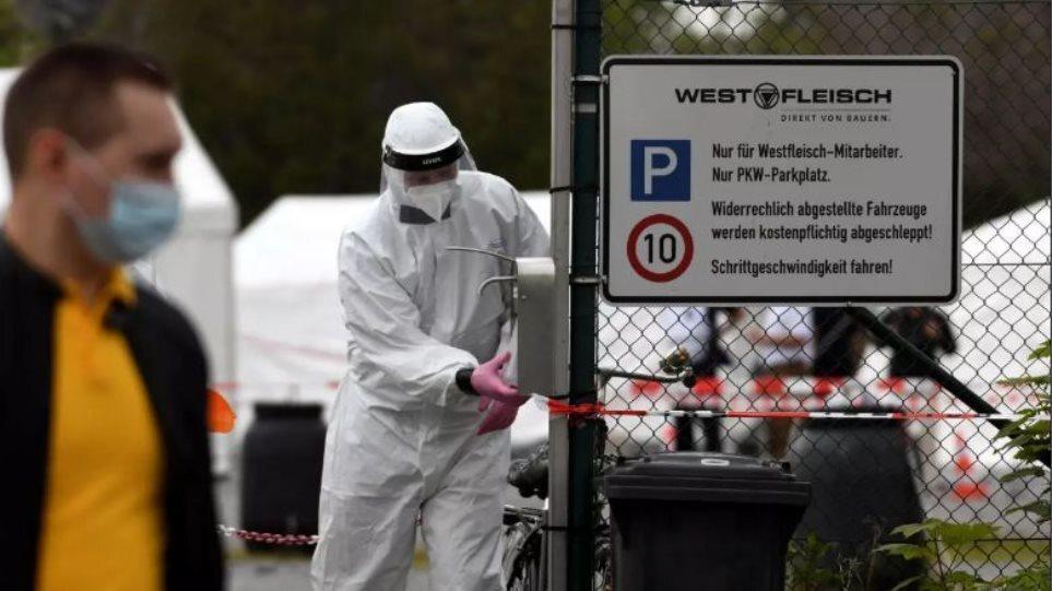 Κορωνοϊός – Γερμανία: Περίπου 650 τα κρούσματα – Υπέκυψαν 26 ασθενείς το προηγούμενο 24ωρο