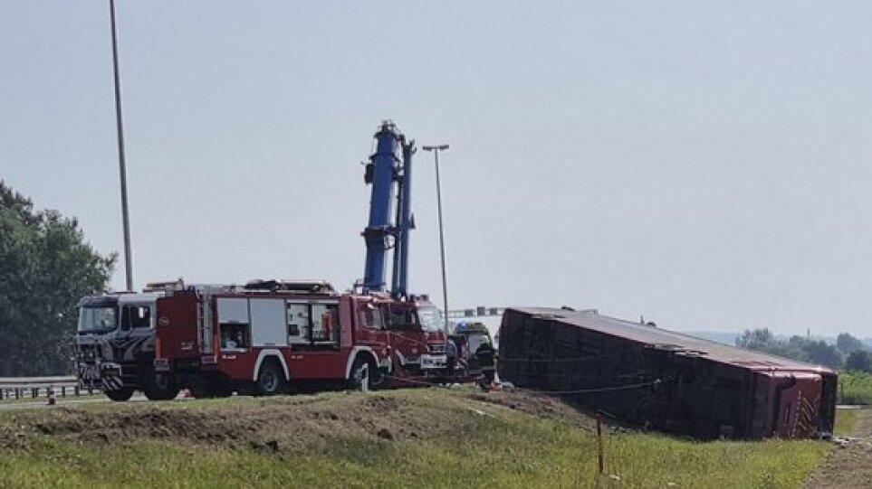 Τραγωδία στην Κροατία: Τουλάχιστον 10 νεκροί σε δυστύχημα με λεωφορείο