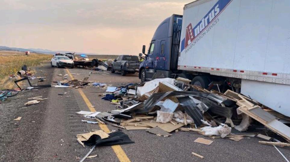 Τραγωδία στη Γιούτα: Οκτώ νεκροί σε καραμπόλα 22 οχημάτων λόγω αμμοθύελλας