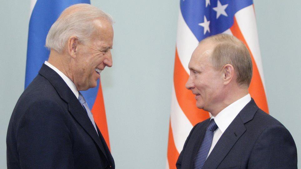 Επικοινωνία Μπάιντεν-Πούτιν για τις κυβερνοεπιθέσεις: «Σταματήστε τους χάκερ» λένε οι ΗΠΑ