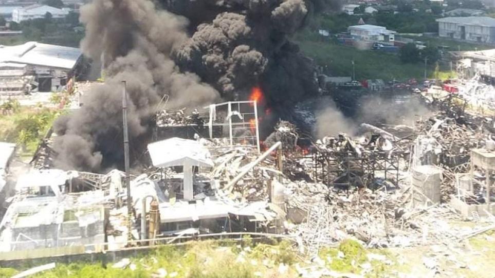 Ταϊλάνδη: Μεγάλη έκρηξη σε εργοστάσιο άφησε ένα νεκρό και τουλάχιστον 29 τραυματίες