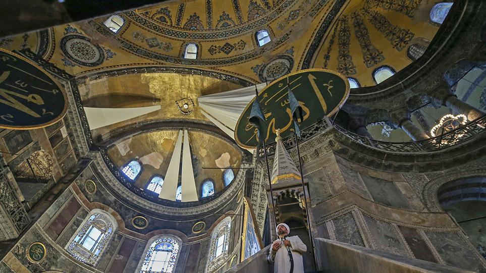 «Ράπισμα» της UNESCO κατά Τουρκίας για τη μετατροπή της Αγίας Σοφίας σε τζαμί